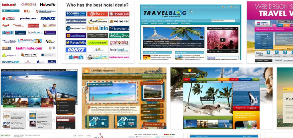 travel website brands needing seo